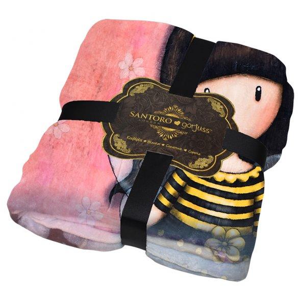 """Κουβέρτα Santoro Gorjuss """"Bee Loved"""""""