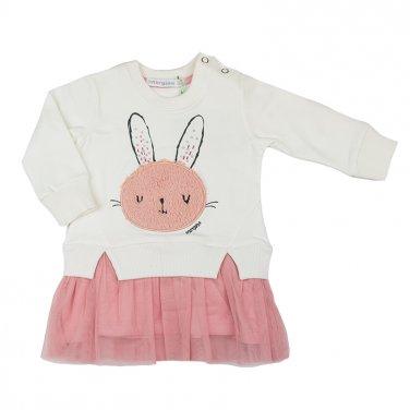 """Φόρεμα """"Rabbit"""" λευκό"""