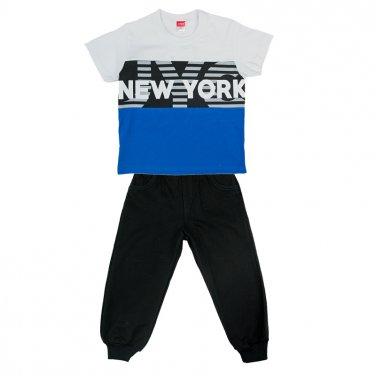 """Σετ φόρμα """"New York"""" μαύρη"""