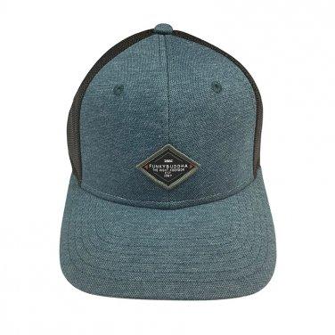"""Καπέλο """"Funky Buddha"""" blue jean"""