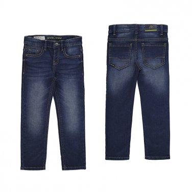 """Παντελόνι τζιν Slim Fit """"Blue Dnm"""" μπλε"""