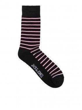 """Ζευγάρι κάλτσες """"Stripes"""" μπορντό"""