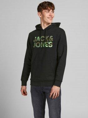 """Μπλούζα φούτερ """"Jack & Jones"""" μαύρο"""