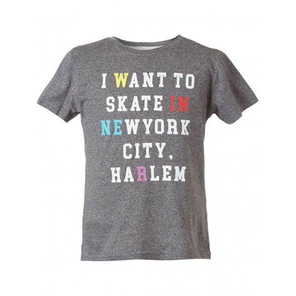"""Μπλούζα κοντομάνικη """"I Want To Skate In"""""""