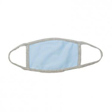 Βαμβακερή μάσκα γαλάζια