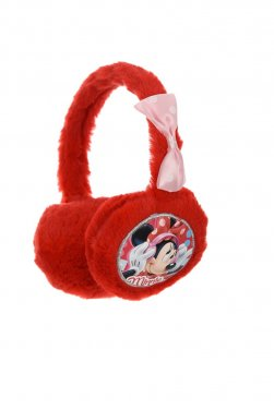 """Προστατευτικά Αυτάκια earmuffs """"Minnie"""" κόκκινο"""