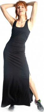"""Φόρεμα μακό """"Basic"""" μαύρο"""