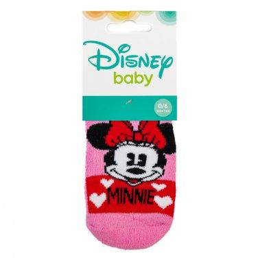 """Αντιολισθητικές κάλτσες """"Minnie Mouse"""" ροζ"""