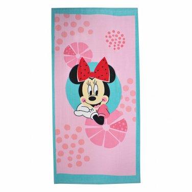 """Αυθεντική πετσέτα θαλάσσης """"Minnie Mouse"""" (70X140)"""