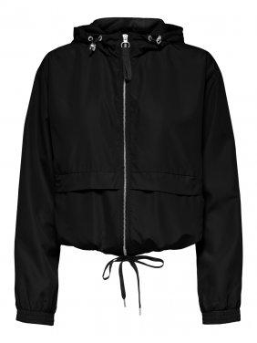 Εποχιακό μπουφάν μαύρο
