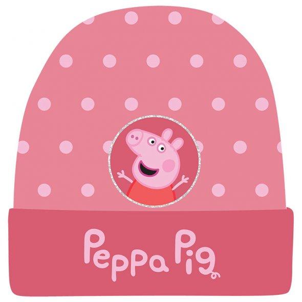 """Σκούφος """"Peppa Pig"""" σομόν"""
