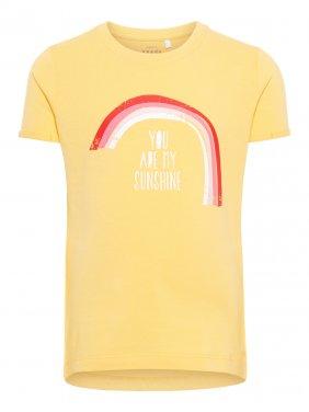 """Μπλούζα """"Sunshine"""" κίτρινη"""