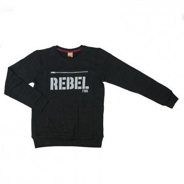 """Μπλούζα """"Rebel"""" μαύρη"""