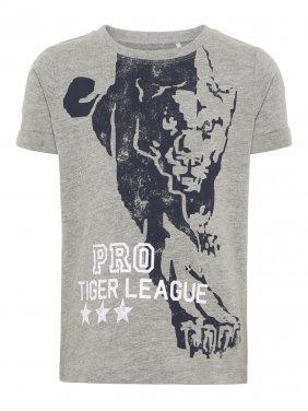 """Μπλούζα """"Tiger League"""" μελανζέ"""