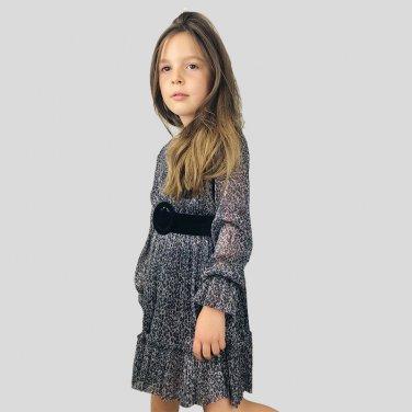 """Φόρεμα """"Animal Print"""" με ζώνη"""