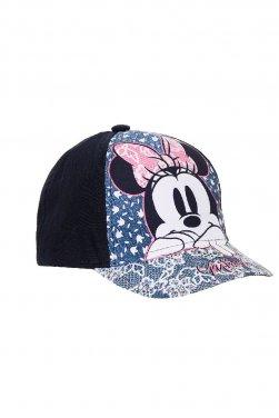 """Καπέλο """"Minnie flowers"""" μπλε"""