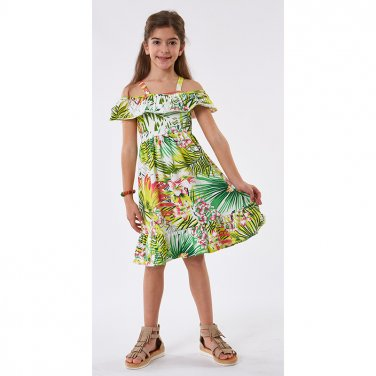 """Μακό φόρεμα """"jungle"""""""