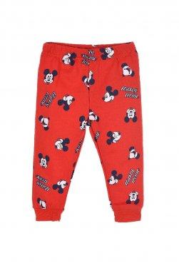 """Παντελόνι φόρμας """"Mickey"""" κόκκινο"""