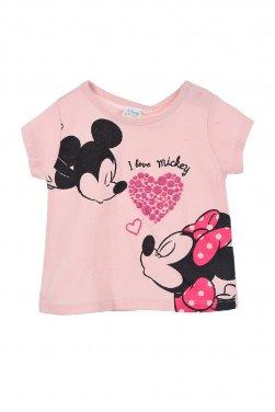 """Μπλούζα Disney """"I Love Mickey"""" ροζ"""