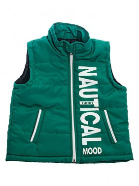 """Πράσινο αμάνικο μπουφάν """"Nautical Mood"""""""
