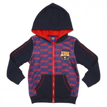 """Ζακέτα φούτερ """" FC Barcelona"""" μπλε"""