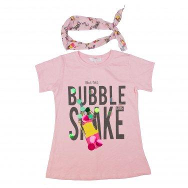 """Μπλούζα """"Bubble Shake"""" ροζ"""