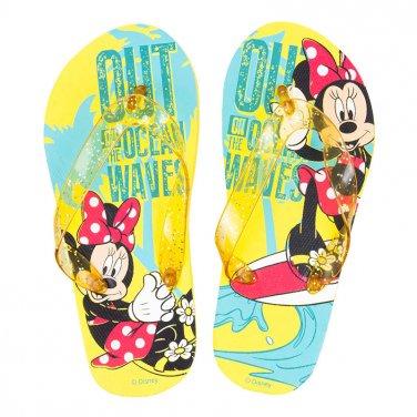 """Σαγιονάρες """"Minnie Mouse"""" κίτρινο"""