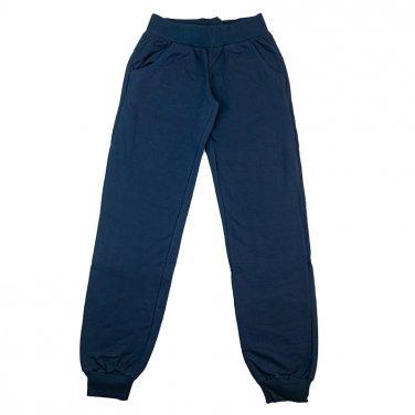 """Παντελόνι φόρμας φούτερ """"Basic"""" μπλε"""