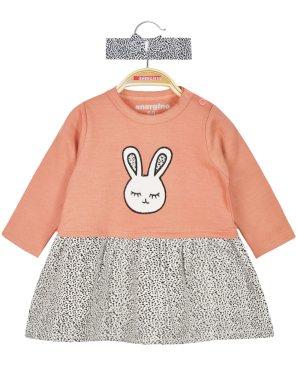 Φόρεμα ''bunny'' σομόν
