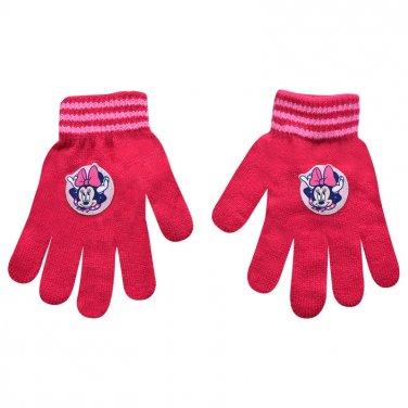 """Γάντια """"Minnie"""" φούξια"""