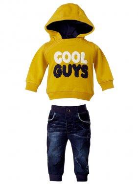 """Σετ με παντελόνι τζιν """"cool guys"""""""