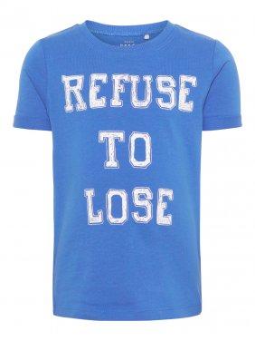 """Μπλούζα """"Refuse to lose"""" ρουά"""