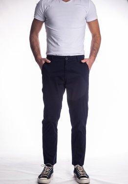 Παντελόνι υφασμάτινo μπλε