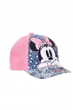 """Καπέλο """"Minnie flowers"""" ροζ"""
