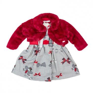 """Φόρεμα με γουνάκι μπολερό """"Fairy Princess"""""""