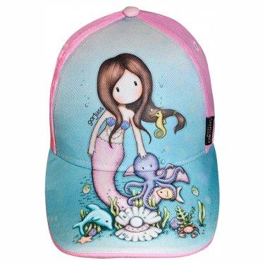 """Καπέλο Santoro Gorjuss """"Mermaid"""" ροζ"""