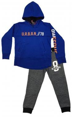 """Φόρμα με κουκούλα """"Urban"""" ρουά"""