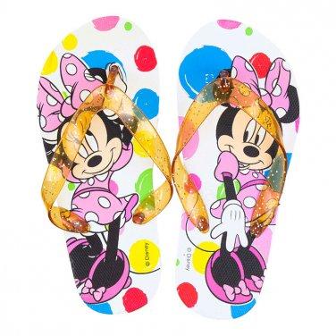 """Σαγιονάρες """"Minnie Mouse"""" λευκό"""