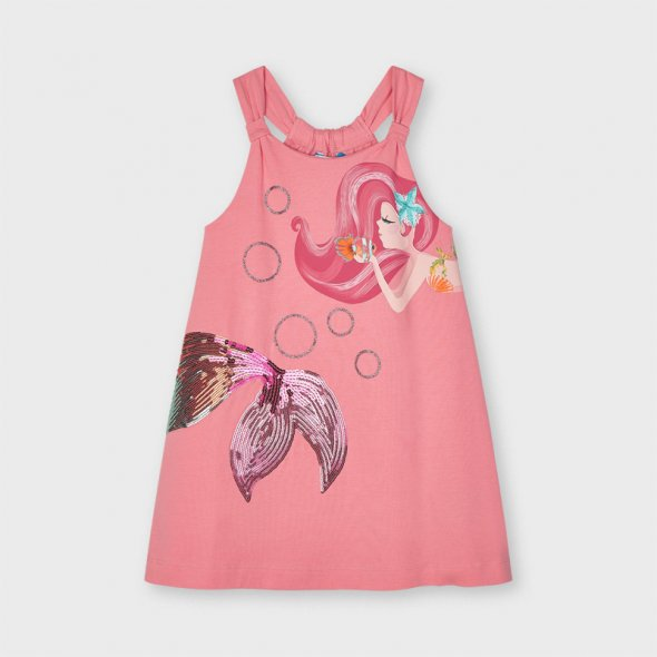 """Φόρεμα """"Mermaid"""" κοραλί"""