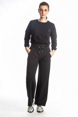"""Παντελόνα """"Large Pants"""" μαύρη"""