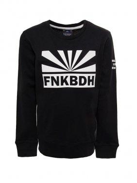 """Μαύρη μπλούζα """"FNKBDH"""""""