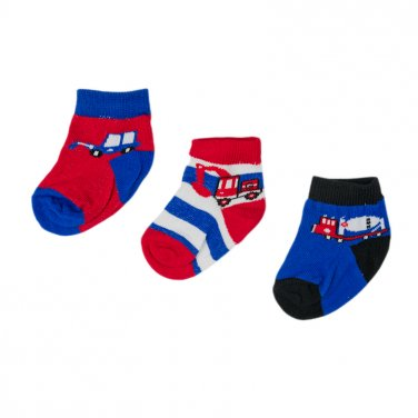 Σετ 3 ζευγάρια κάλτσες βρεφικές
