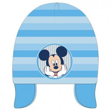 """Σκούφος earflaps """"Mickey"""" γαλάζιο"""