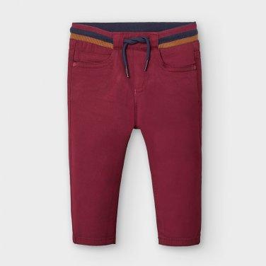 Παντελόνι μακρύ μπορντό