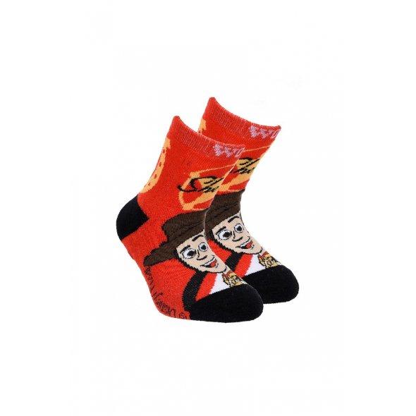 """Αντιολισθητικές κάλτσες """"Toy story 4"""" κόκκινες"""