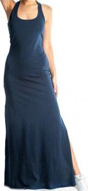 """Φόρεμα μακό """"Basic"""" μπλε"""