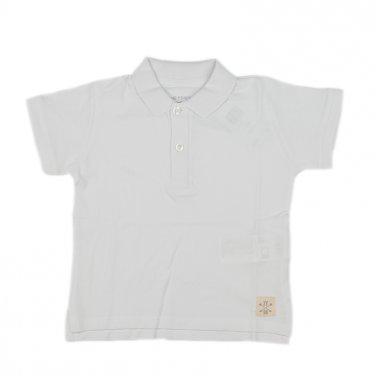 Μπλούζα πόλο κοντομάνικη λευκή