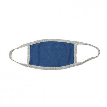 Βαμβακερή μάσκα μπλε