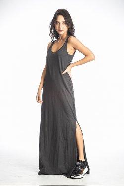 """Φόρεμα """"MAXI"""" γκρι"""
