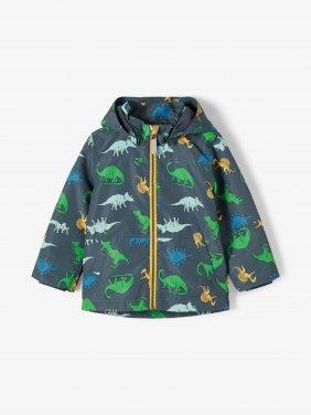 """Εποχιακό μπουφάν """"Dinosaur"""" μπλε"""